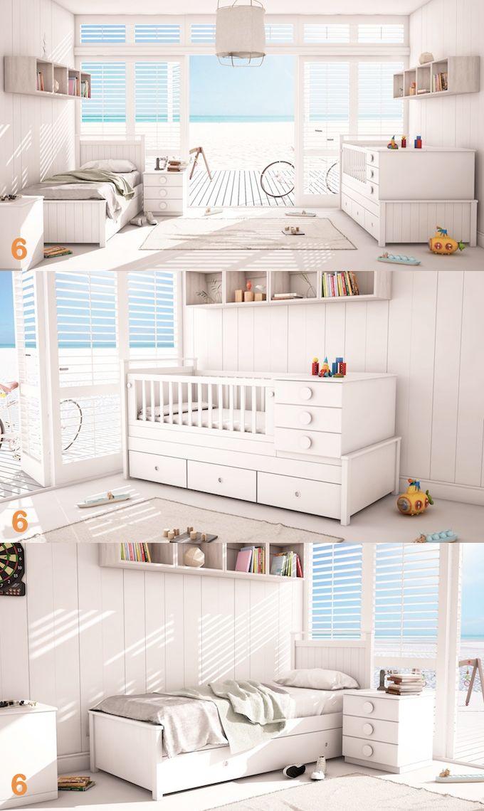 Cuna Funcional Bebes Linea Milan Muebles Infantiles y Juveniles bebes-hogar-muebles-juveniles-cunas-camas-dormitorios