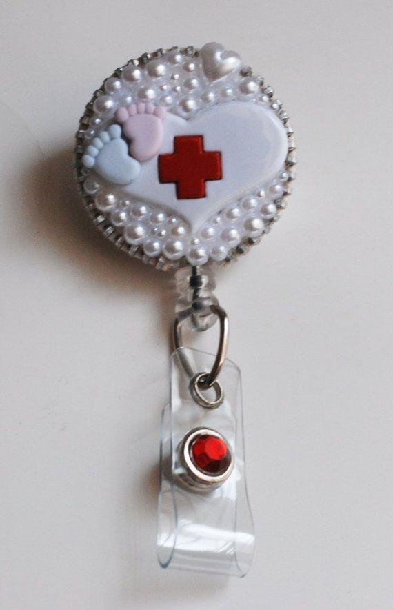 A Heart For Pediatric Nurses Vintage Zipper ID by ZipperedHeart, $12.00