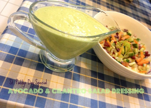 Zesty Avocado Cilantro Buttermilk Dressing Recipe — Dishmaps