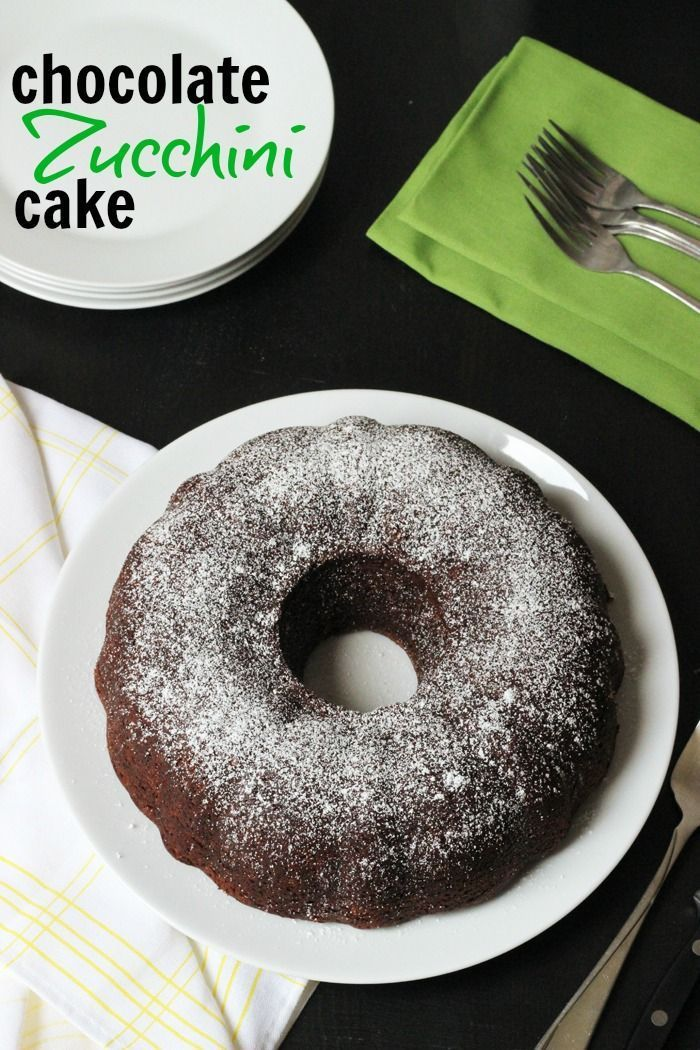 Chocolate Zucchini Cake   Life as Mom - Chocolate Zucchini Cake is a revelation. Moist and redolent with cinnamon and zucchini, this chocolate cake makes great use of that prolific summer squash.