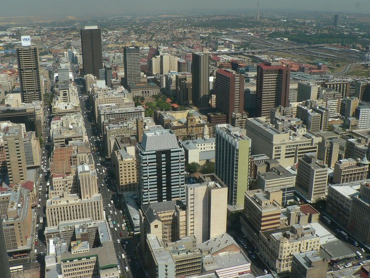 Johannesburg the largest city in South Africa