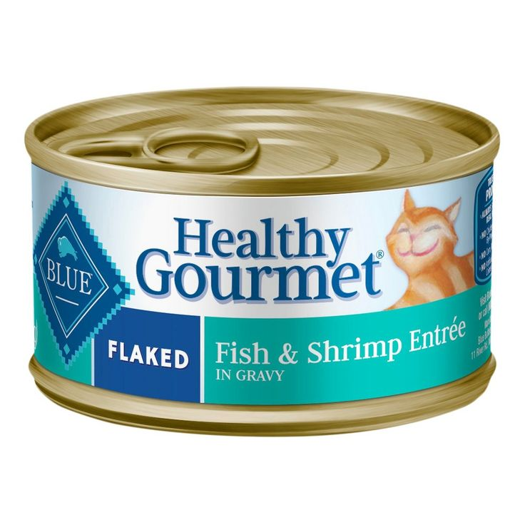 Blue buffalo healthy gourmet adult flaked fish shrimp