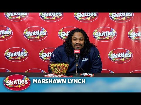 Best 2:38 of my life, this was. Marshawn Lynch <3 So much win.