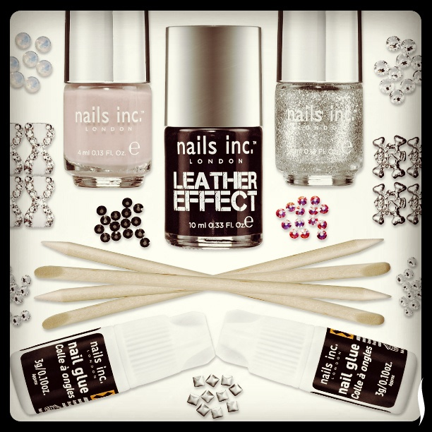Skulls, bows and bling: we love these Rebel and Romance nail art kits from Nails, Inc!