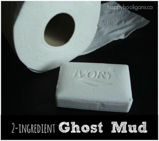 Ghost mud with Ivory Soap