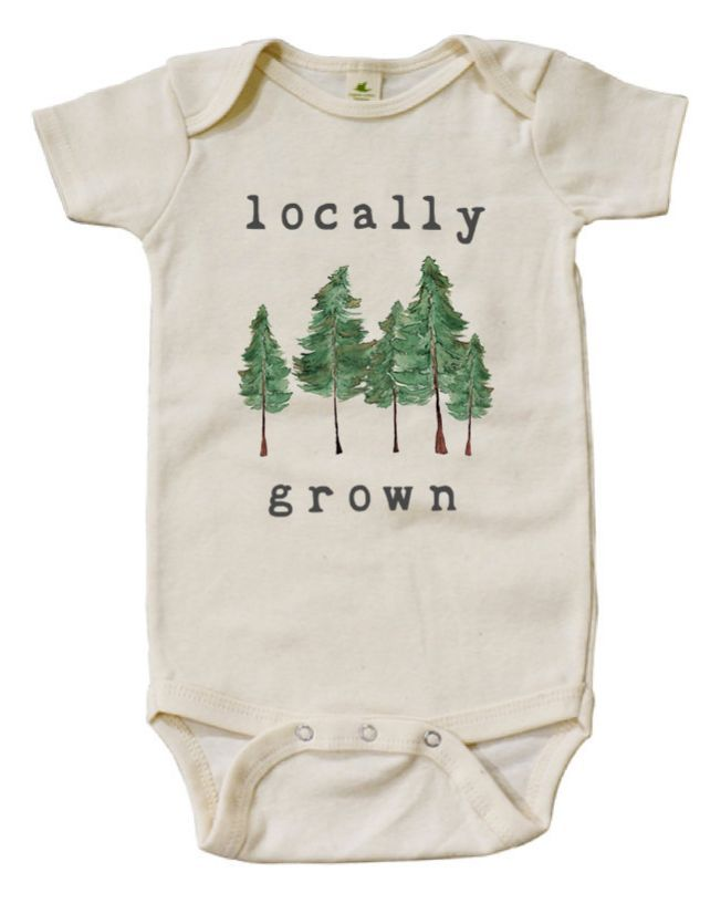 'Locally Grown' Onesie | Mini & Meep on Etsy