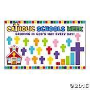 Catholic Schools Week Mini Bulletin Board Set