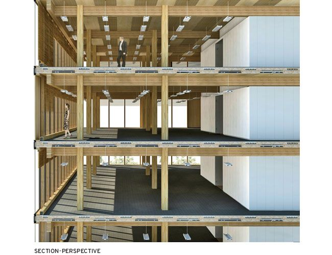 Wood innovation design centre michael green architecture for Wood mezzanine construction plan