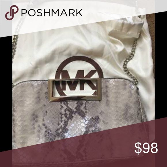 Michael Kors Clutch with Strap Snakeskin Michael Kors Clutch with strap MICHAEL Michael Kors Bags Clutches & Wristlets
