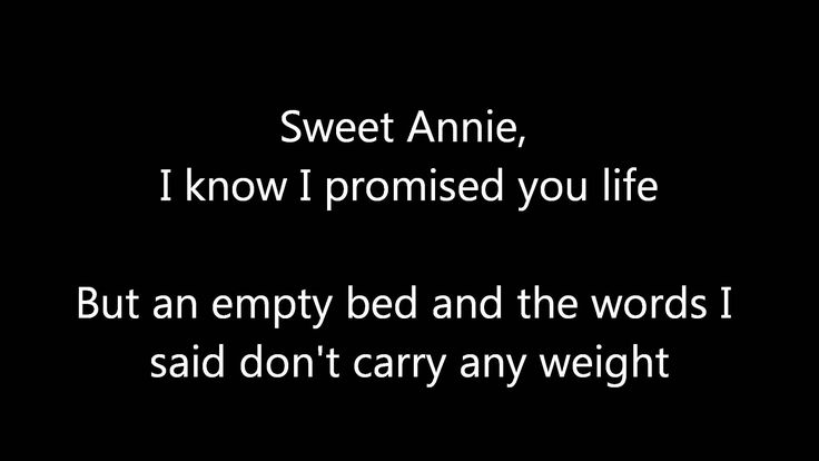 Zac Brown Band - Sweet Annie (With Lyrics)
