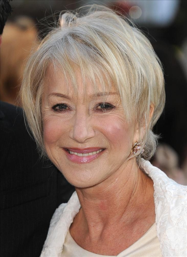 58 best images about Helen mirren hair on Pinterest | Bobs