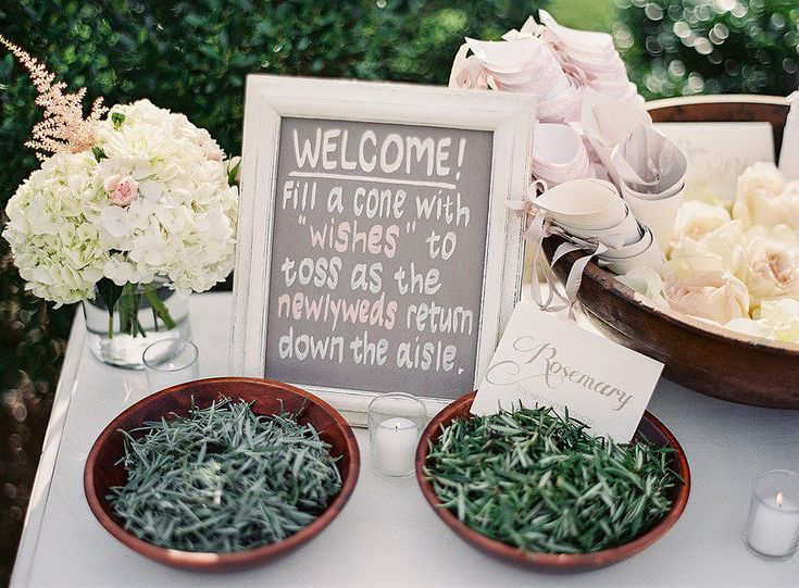 21 Alternatives to the Rice Toss: The rice toss originated as a way to wish the newlywed couple a good harvest, but there are so many other creative, fun, and bird-friendly ways to revamp the tradition.