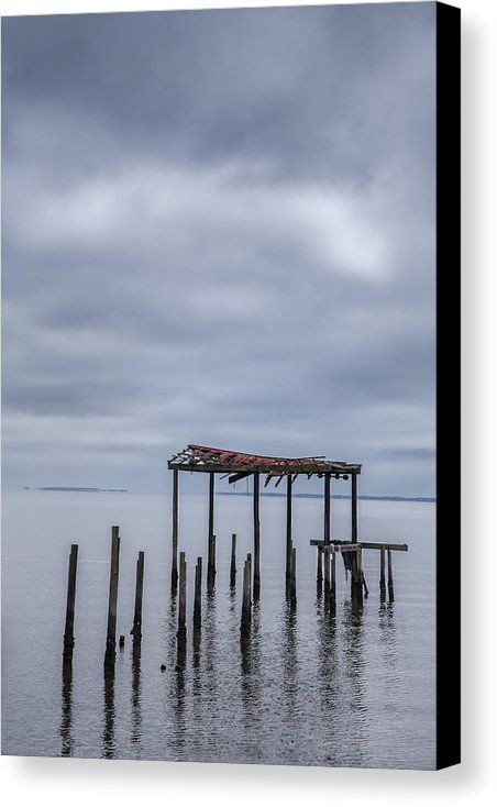 While in Carrabelle, Florida, I found this structure hanging on to it's existence and history.