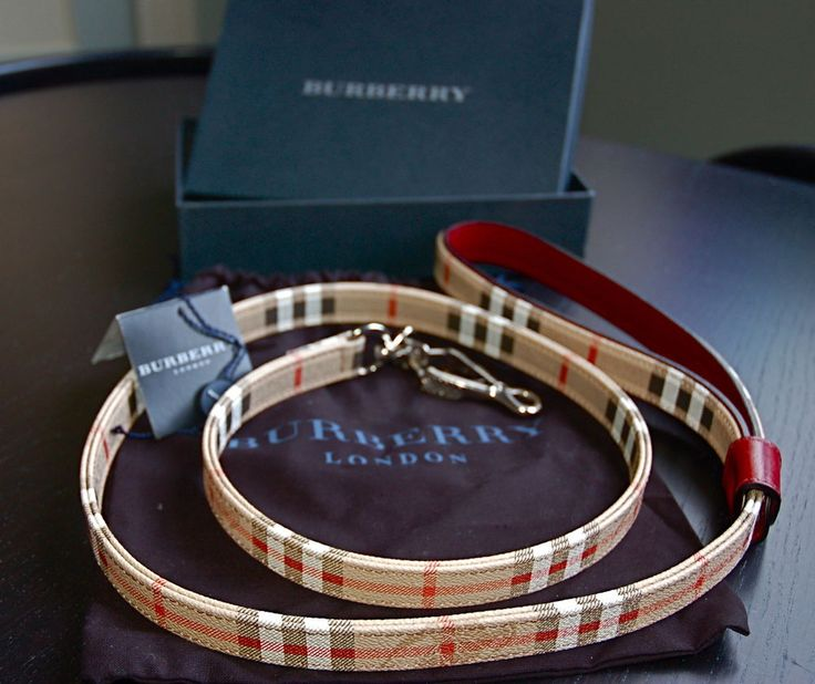 Burberry Small Novacheck Dog Collar Amp Leash Dog Leash