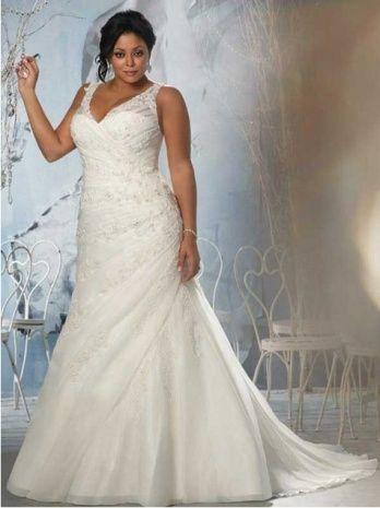 Tank Top Style Wedding Dress