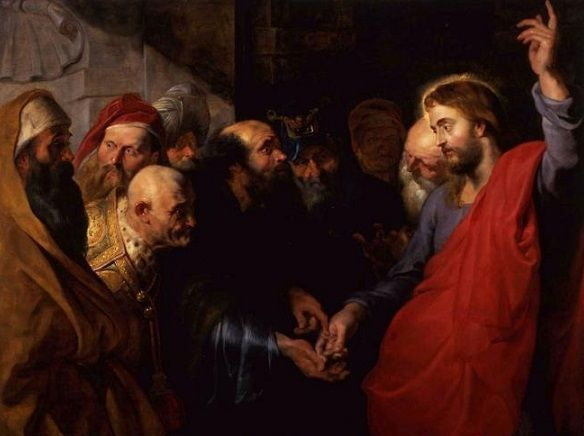 Peter Paul Rubens: El tributo, 1612,