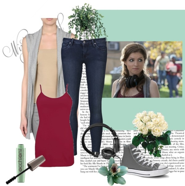 """Get Beca's look, from Pitch Perfect!"" by bella3662 on Polyvore"