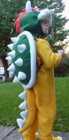 Diy bowser costume