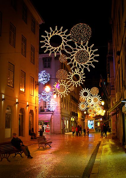 ~Christmas in Lisbon, Portugal