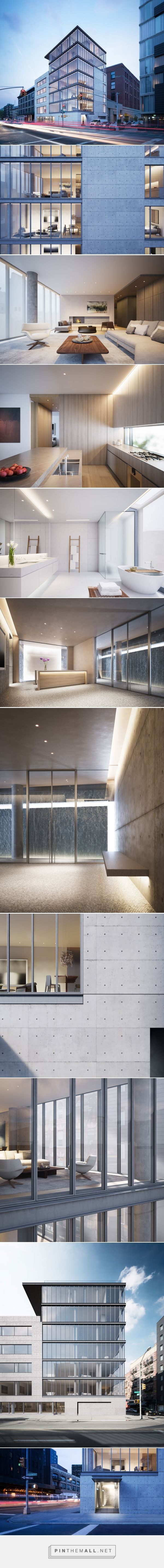 tadao ando fully reveals vision for 152 elizabeth in new york - created via http://pinthemall.net