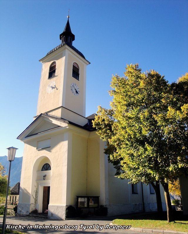 Haiming-Haimingerberg, Expositurkirche Mariä  Heimsuchung (Imst) Tirol AUT