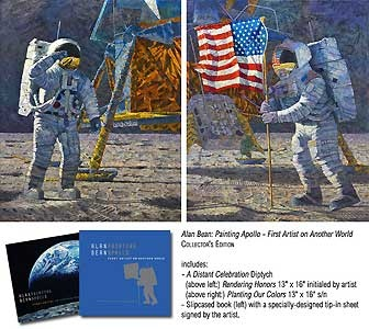 Book -- Painting Apollo - First Artist on Another World - Alan Bean - World-Wide-Art.com - $675.00