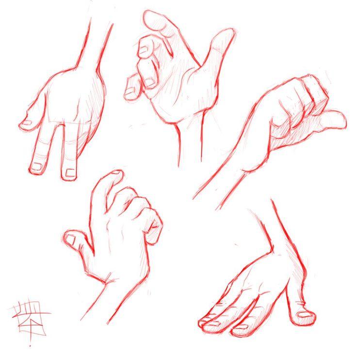 Hands 1 by *LuigiL on deviantART