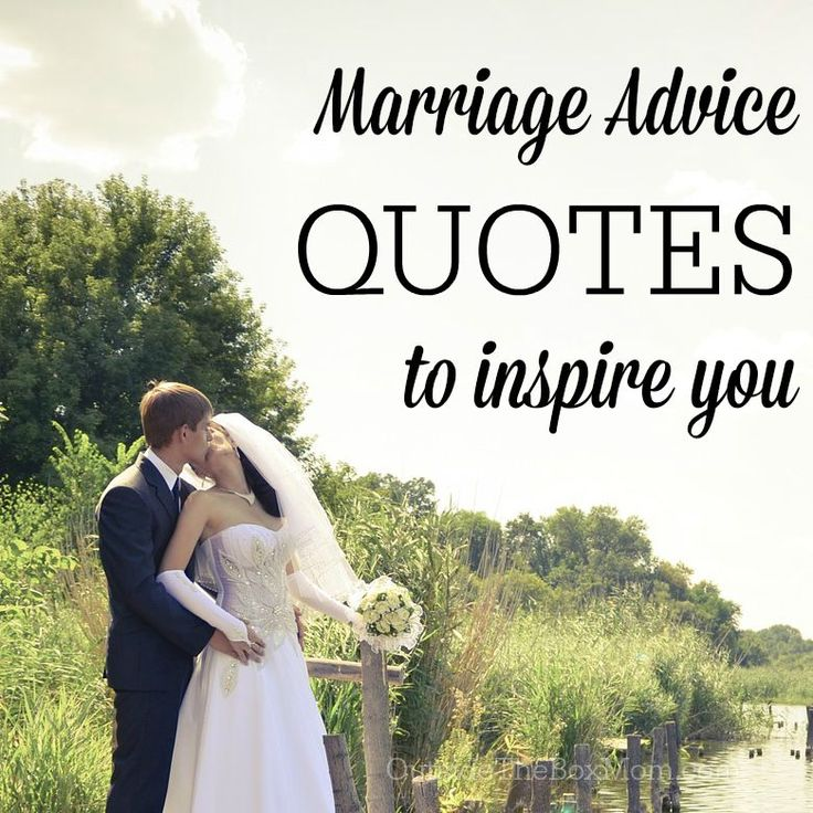 Marriage Advice Quotes to Inspire You