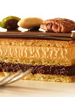 Callebaut - Operacake met pecannoten