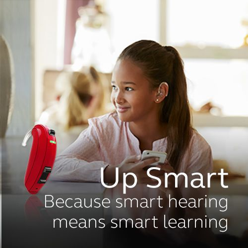 Up Smart. Because smart hearing means smart learning.  Visit resound.com/en-AU/hearing-aids/up-smart