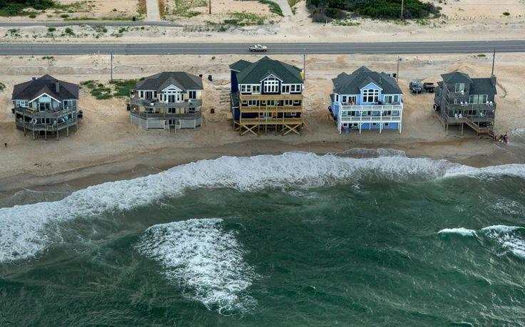 Outer Bank, Rodanthe, North Carolina, climate change, sea levels