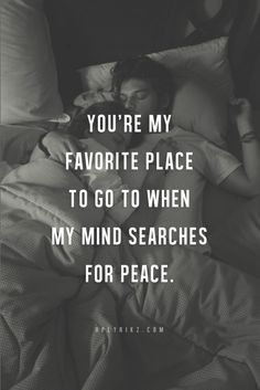 you were my favorite place