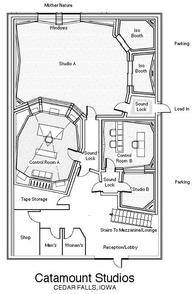Find This Pin And More On House Plans By Pcilich. Recording Studio ...