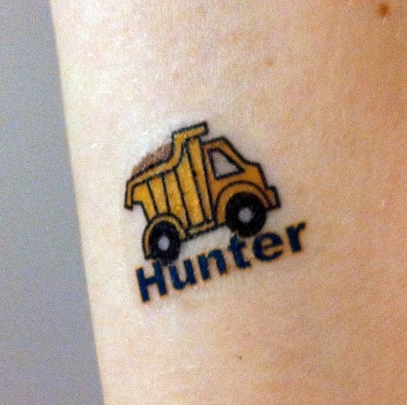 Custom Temporary Tattoos  Kids Party Favors  by Tatasaurus on Etsy