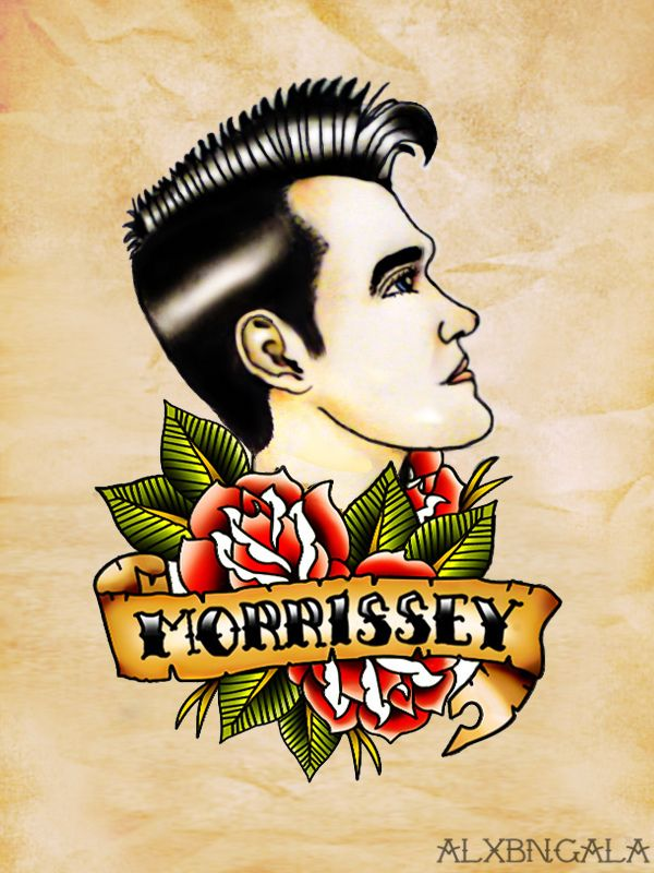 Morrissey by:Alxbngala on Behance