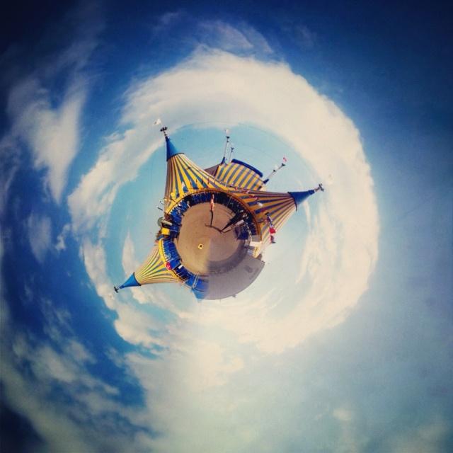 Tiny Cirque du Soleil Planet Show