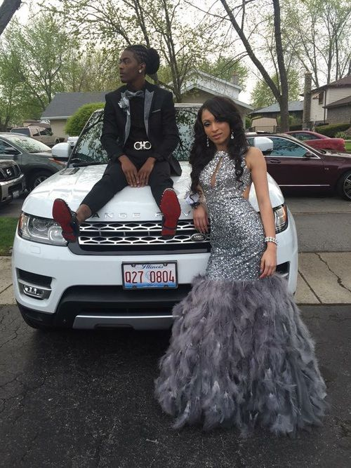 couple, Prom, and slay image
