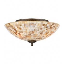 Want to replace tacky laundry room ceiling light. This would work -- Quoizel - MY1613ML - Monterey Mosaic Flush Mount $229.99 Lamps.com #Inhabitatlamps: Flushmount, Quoizel, Semiflush Mount, Lights Fixtures, Ceilings Lights, Trav'Lin Lights, Flush Mount Ceiling, Monterey Mosaics, Semi Flush