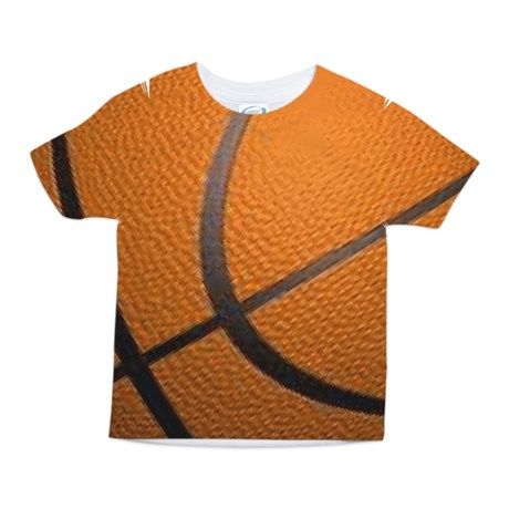 Basketball Sports Toddler All Over Print Tee on CafePress.com