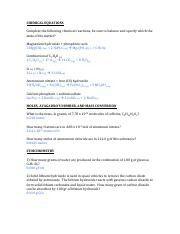 Mejores 11 imágenes de Estequiometría en Pinterest | Hojas de ...