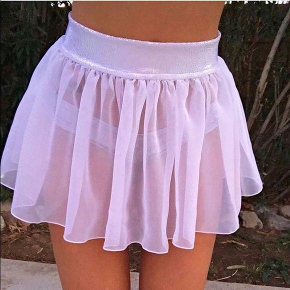 RAVE SKIRT disco cheekz rave skirt, never worn, PERFECT FOR FESTIVALS AND RAVES Skirts Mini
