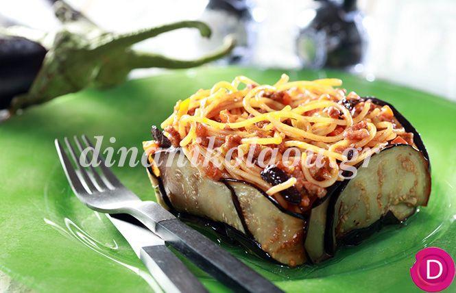 Σπαγγέτι «σισιλιάνα» με κιμά και μελιτζάνες | Dina Nikolaou