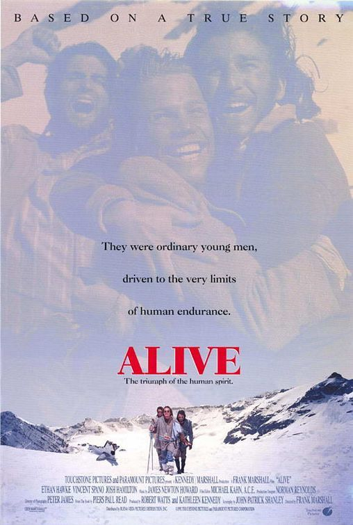 Alive Movie Poster - Internet Movie Poster Awards Gallery