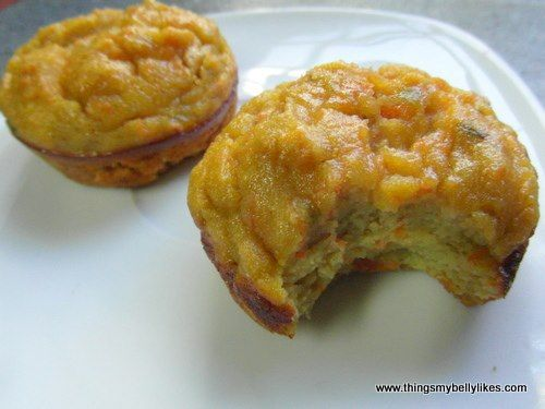 Avocado, Carrot & Honey Muffins #ThingsMyBellyLikes