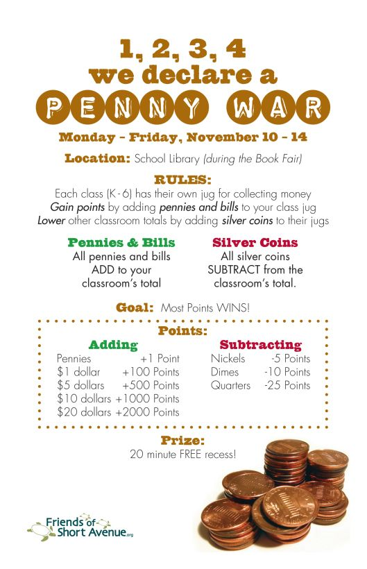 2014-15TwoUpFlyers.indd   Penny   School fundraisers, Pta ...