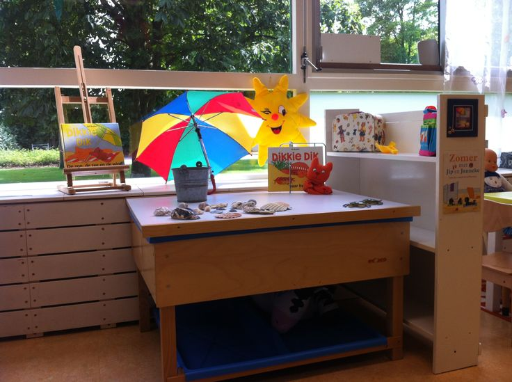 themahoek /-tafel zomer(vakantie)