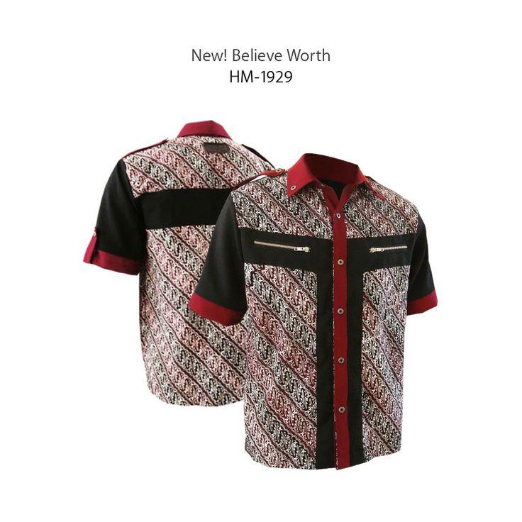 New! Believe Worth - HM-1929 #kemejabatikmedogh #sarimbitbatikmedogh http://medogh.com/couple-jaket-sarimbit-batik/couple-sarimbit-batik/Sarimbit%20Batik%20WORTH%20SB%201929%20HM