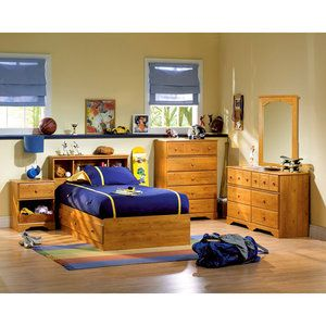 South Shore Little Treasures Complete Bedroom Set Pine Cheap