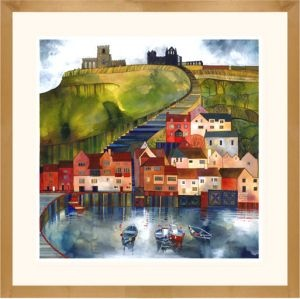 Kate Lycett - Whitby.  Kate is a local artist from Hebden Bridge