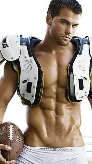 Mick Riley (Jed Hill), NFL Quarterback, The San Fransisco Sabers. (